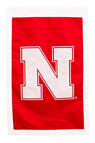 - Ashley Gifts Customizable Applique Regular Flag, Double Sided, University of Nebraska