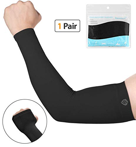 561fd8c820 SHINYMOD UV Protection Cooling or Warmer Arm Sleeves for Men Women Kids  Sunblock Protective Gloves Running Golf Cycling Driving 1 Pair/ 3 Pairs/ 5  Pairs ...