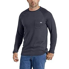 Dickies Men's Temp-iq Performance Cooling Long Sleeve T-Shirt title