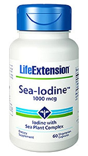 Life Extension Sea-Iodine Capsules, 1000 mcg, 60 Count
