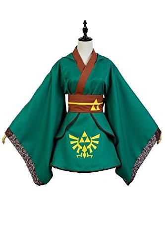 Kucos Link Kostüm The Legend of Zelda Cosplay für Damen