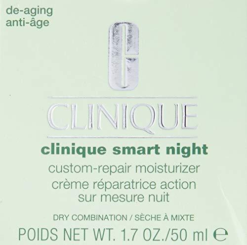 Clinique Smart Night Custom-repair Moisturizer, Dry Combination, 1.7 Ounce