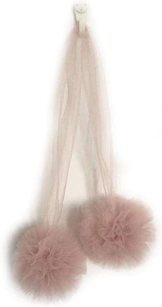 Pink lulongyansf 1pc Garn H/ängend Mesh-garn-Ball-Raum-Zelt Runde Dekoration-anh/änger Chiffon Kugel Nordic Wandverzierungen Props