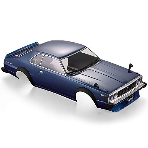 Goolsky Killerbody Car Shell 48700 1977 Skyline Hardtop 2000 GT-ES Finished Body Shell for 1/10 Electric Touring RC Racing Car DIY ()