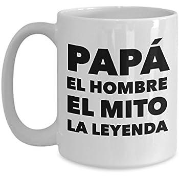 Regalo Para Papa Dia del Padre Tazas de cafe para hombre
