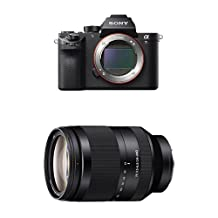 Sony ILCE7RM2/B a7R II Full-Frame Mirrorless Interchangeable Lens Camera, Body Only with Sony SEL24240 FE 24-240 mm f/3.5-6.3 OOS Standard-Zoom Lens for E (NEX) Cameras bundle