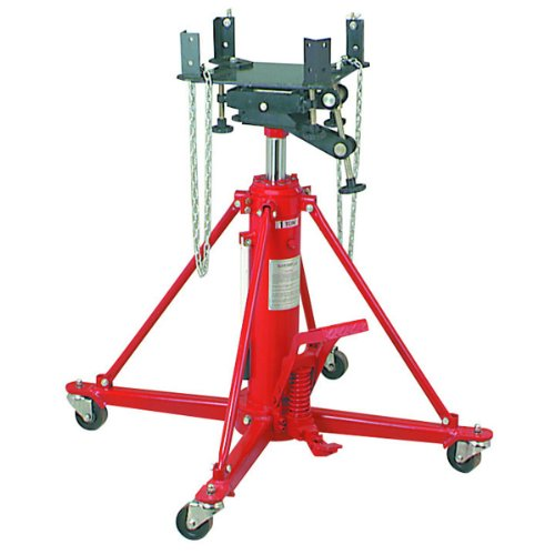 2200 Lb. Two Stage Transmission Jack with Foot Pedal Pump and ()