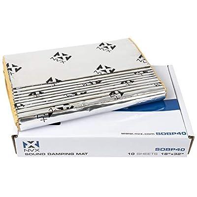 NVX Professional Grade 90mil Sound Deadening (Silver, 40sqft): Musical Instruments