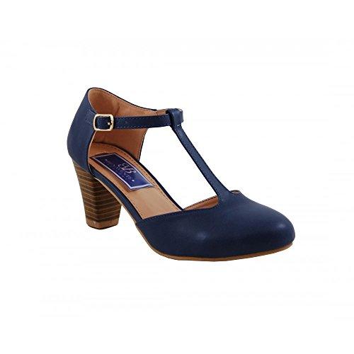 Zapatos blancos con hebilla Benavente para mujer ImnoMbZ