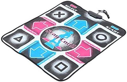 XJL Tanzdecke Tanzmatte rutschfeste Tanzschritt-Tanz-Matten-Auflage-Pads HD Tänzer Decke Fitnessgeräte Fußdruck Matte PC mit USB