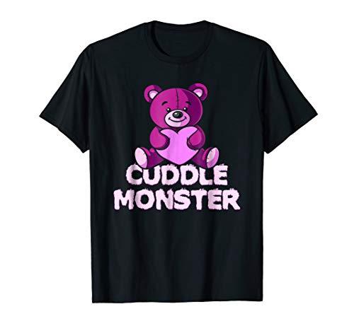 Cuddle Monster! Cute Teddy Bear T-Shirt -