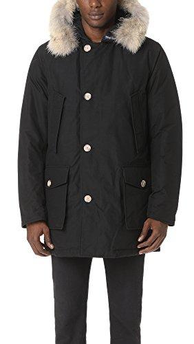 Woolrich John Rich & Bros. Men's Arctic Parka DF, New Black, Large