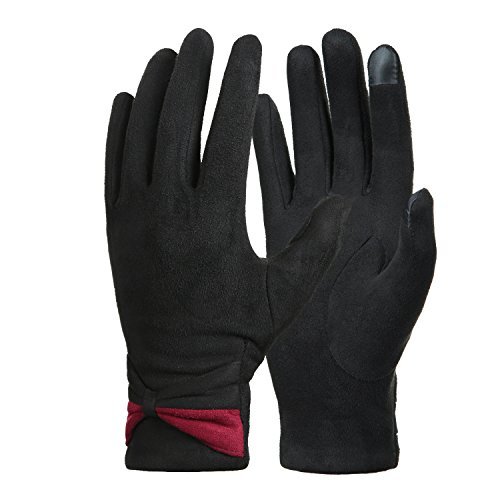 Womens-Winter-Warm-Touchscreen-Gloves-Fleece-Lined-Cold-Weather-Thick-Gloves-by-REDESS
