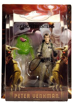 Ghostbusters Mattel Exclusive 6 Inch Action Figure Peter Venkman with Slimer