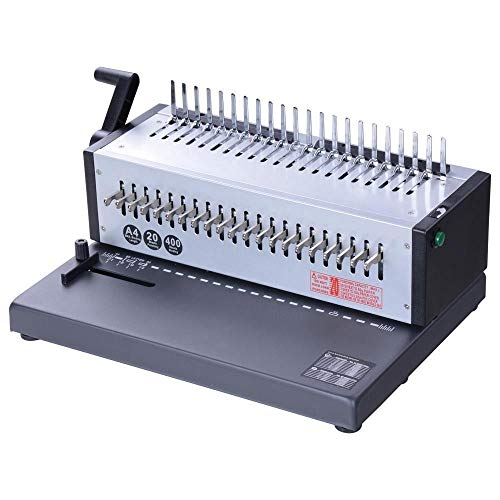 Binding Coil Die 1 (Adjustable Electric 1-21 Hole Paper Comb Binding Machine with Ebook)