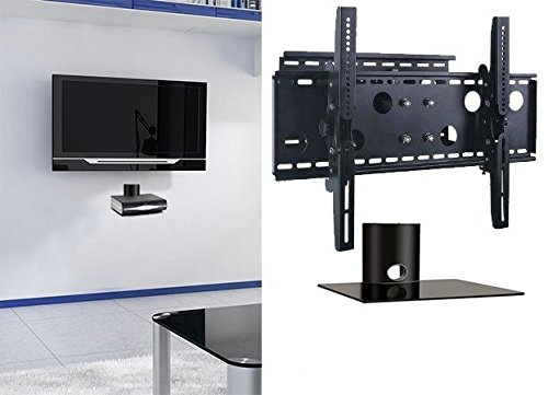 2xhome-NEW-TV-Wall-Mount-Bracket-Single-Arm-Single-Shelf-Package-Secure-Cantilever-LED-LCD-Plasma-Smart-3D-WiFi-Flat-Panel-Screen-Monitor-Moniter-Display-Large-Displays-Long-Swing-Out-Single-Arm-Exten