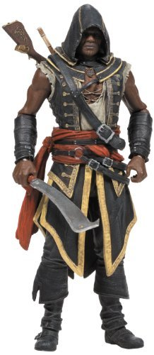 Assassin's Creed Toy Collectable - Series 2 Adewale Deluxe Action Figure by Assassin's Creed