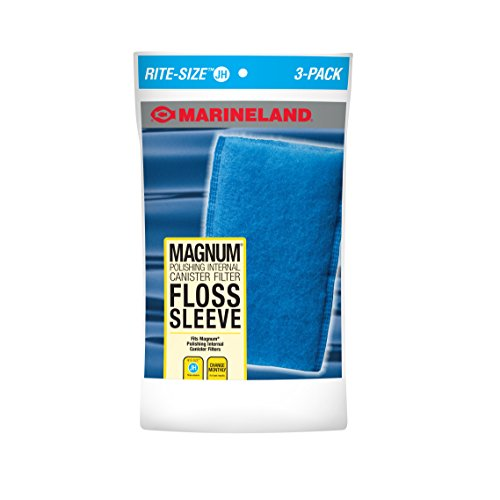 Marineland ML90769 JH Floss Sleeve Magnum Polishing Internal Filter (3 Pack)