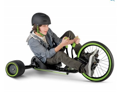Huffy [ 98305 ] 20-Inch Machine RT 3-Wheel Tricycle, (Green)]()