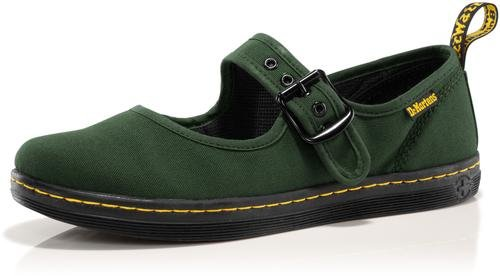 dr martens canvas mary janes