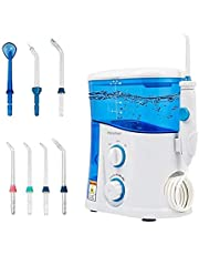 And raise water flosser to clean teeth