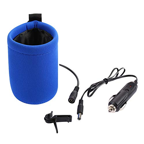Baby Bottle Warmer Milk Travel Car Bottle Heated Portable Quick Heater by YIRUN, Blue