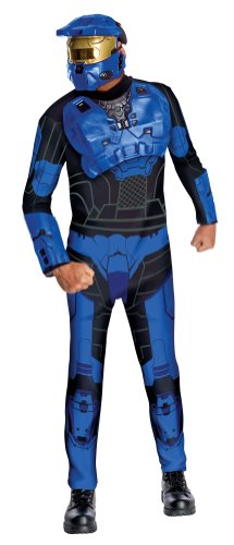 Halo Universe Spartan Costume Set, Blue,