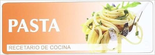 Recetario De Cocina.Pasta Recetario De Cocina Varios 9783833161322 Amazon Com