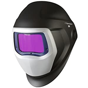3M Speedglas Welding Helmet 9100 with Extra-Large Size Auto-Darkening Filter 9100XX- Shades 5, 8-13, Model 06-0100-30