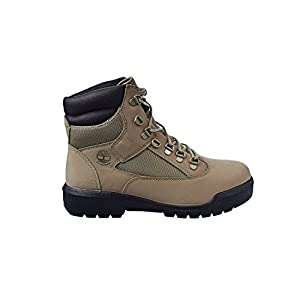 Timberland 6 Inch Field Waterproof Men's Boots Beige Nubuck tb0a1nzk (8.5 D(M) US)