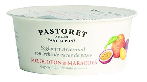 Pastoret - Yogur Artesanal Melocotón y Maracuyá, 1 Unidad x 125 g: Amazon.es: Alimentación y bebidas
