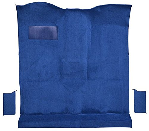 1978 to 1980 Chevrolet Blazer Carpet Custom Molded Replacement Kit, 2 WD Passenger Area (8935-Steel Blue Plush Cut Pile) Blazer Molded Replacement Carpet