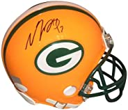 Davante Adams Autographed Mini Helmet - JSA Certified - Autographed NFL Mini Helmets