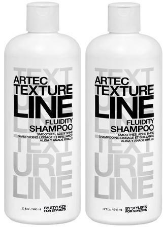 Artec Texture Line Fluidity Shampoo BY STYLISTS FOR STYLISTS (32 FL oz./946 mL.) each Bottles (Qty, of 2 -