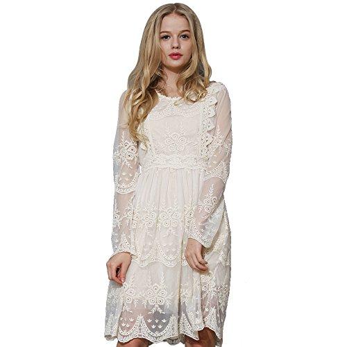 Ivory Dress - 2
