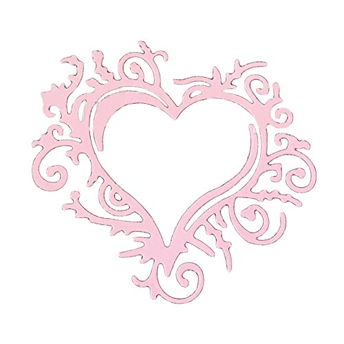 Gilroy Love Heart Metal Cutting Dies Stencil DIY Scrapbooking Embossing Album Paper Card Craft by Gilroy (Image #1)