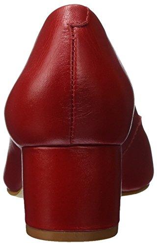 Buffalo Damen Zs 7426-16 Semi Cromo Pumps Rot (RED207)