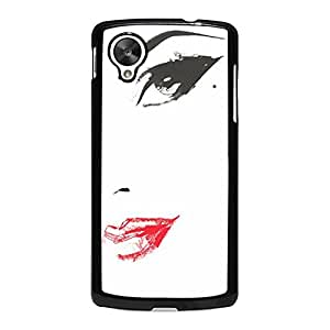 Google Nexus 5 Phone Case Ultimate Protection HD Background Skin Cover Case Popular Character Sketch Designback CaseSnap on Google Nexus 5 Mobile Shell