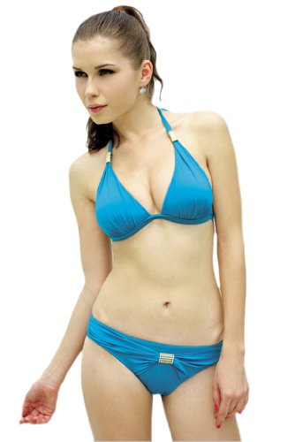 Alivila.Y Fashion - Conjunto - para mujer azul celeste