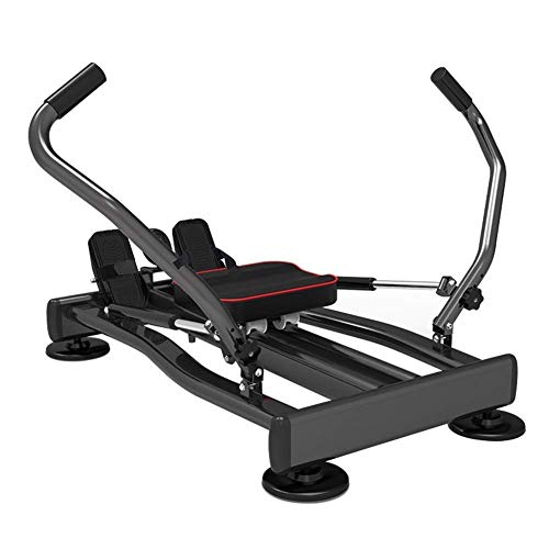 ZJZ Indoor Rowing Machine Roeien Machine, Indoor Rower Trainer Indoor Rower Bench Abdominale Fitness Apparatuur, 4…
