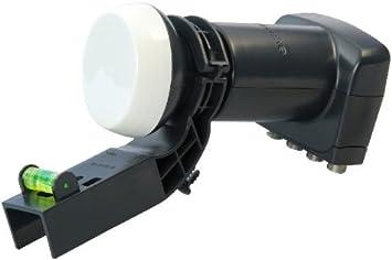 Satellite Finder Motorhome Complete with Tripod SSL Satellites Compatible Sky or Freesat Satellite Dish Set for Caravan MK 4 80cm Dish 10M Twin Coax Cable Quad LNB