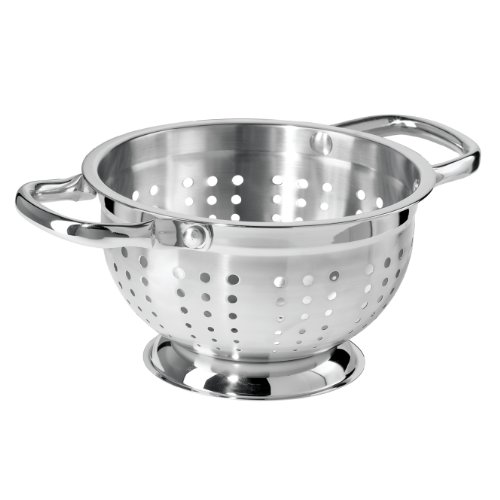 Oggi 5621.0 1.5-Quart Stainless Steel - Colander Quart 1.5