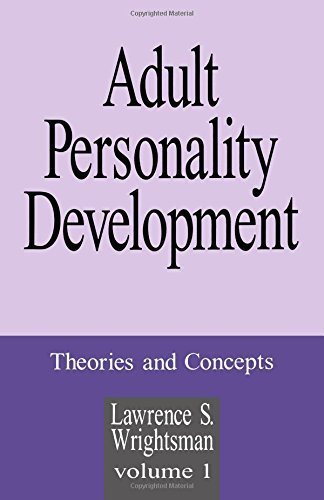1 adult adult concept development development personality personality theory volume