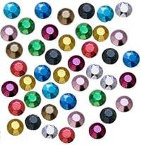 New ThreadNanny 14440-4mm 16ss Hot Fix Metal Rhinestuds - All 10 Colors