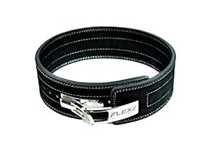 Lever Buckle Powerlifting Belt 10mm Weight Lifting Black Small
