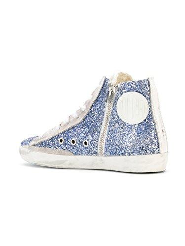 G32ws591b26 Golden Top Goose Hi Donna Glitter Blu Sneakers xq6qXdwr
