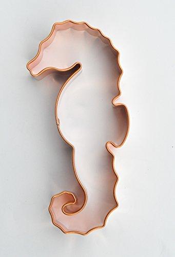 - ecrandal Seahorse copper cookie cutter