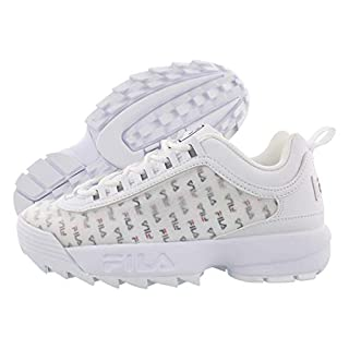 Fila Disruptor II Clear Logos White/Navy-red
