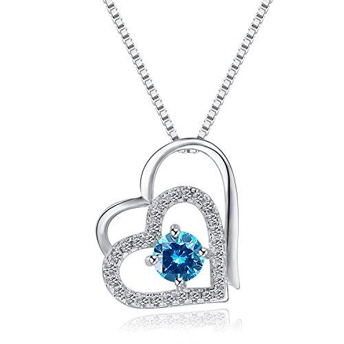 sterling silver necklace,zirconia necklace_woman necklace_crystal necklace_wedding necklace jewelry hypoallergenic