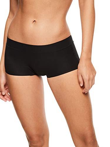 Chantelle Women's Soft Stretch One Size Boyshort, Black, OS ()